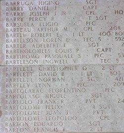 1Lt Robert Edward Bartel