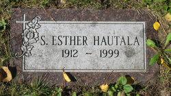 Sylvia Esther <I>Hautala</I> Hautala