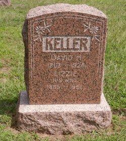 Lizzie Elizabeth <I>Miller</I> Keller