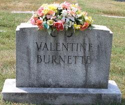 Anita <I>Valentine</I> Burnette