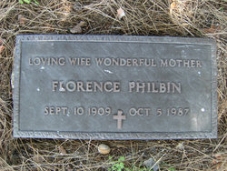 "Florence Filomena ""Minnie"" <I>Boscia</I> Philbin"