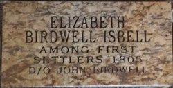Elizabeth <I>Birdwell</I> Isbell Conway