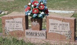 Nora Faye <I>Partee</I> Roberson