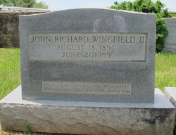 John Richard Wingfield, II