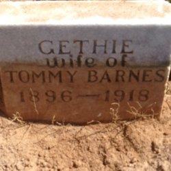 "Getha ""Gethie"" <I>Patterson</I> Barnes"