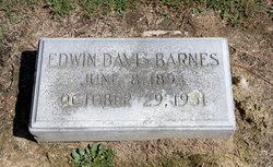 Edwin Davis Barnes, Sr