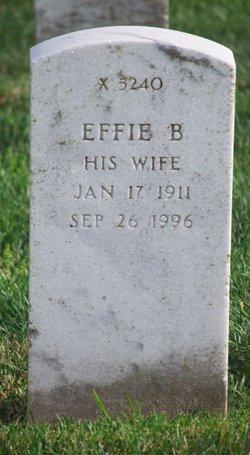 Effie B Garthe