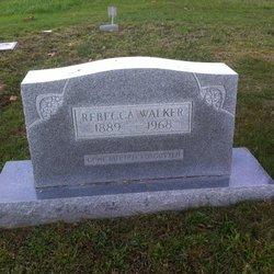 Rebecca S. <I>Walker</I> Walker