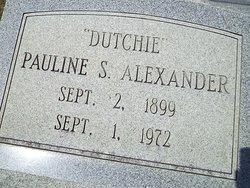 Pauline Alexander
