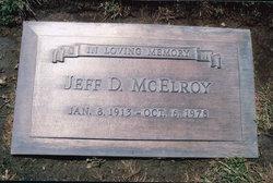 "Jefferson Davis ""Jeff"" McElroy"