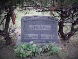 Hannah F <I>Corneliussen</I> Bengston