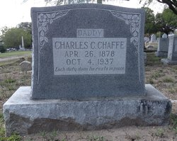 Charles Christopher Chaffe, Jr