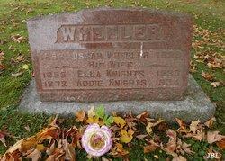 Ella <I>Knight</I> Wheeler