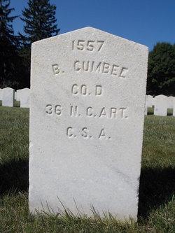 Pvt Benjamin Cumbee