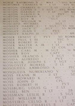 2Lt Morree Moskovitz