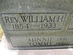 Rev William Howard Shook