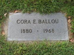 Cora Elizabeth <I>Vanhoy</I> Ballou