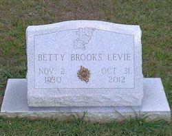 Betty <I>Brooks</I> Levie