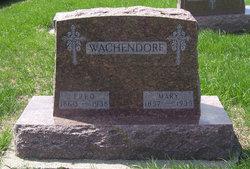 Mary Magdalena <I>Peters</I> Wachendorf