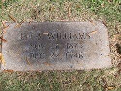 Elmira Ella <I>Caldwell</I> Williams
