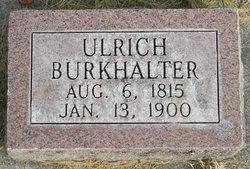 Ulrich Burkhalter