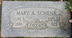 Mary Adell <I>Anderson</I> Schenk