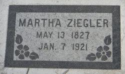 Martha <I>Fredrick</I> Ziegler
