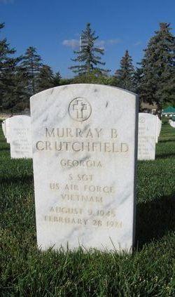 """Sgt Murray B """"Pee Wee"""" Crutchfield"""
