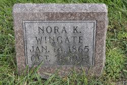 Nora Kile <I>Knapp</I> Wingate
