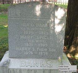 Mary <I>Spicer</I> Banks