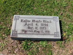 Eoline Inez <I>Monts</I> Black