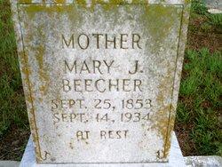 Mary Jane <I>Phillips</I> Beecher