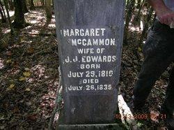 Margaret <I>McCammon</I> Edwards