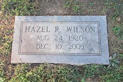 Hazel <I>Reagan</I> Wilson