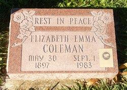 Elizabeth Emma Coleman