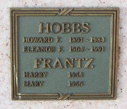 Eleanor E <I>Frantz</I> Hobbs