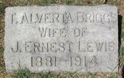 T. Alverta <I>Briggs</I> Lewis
