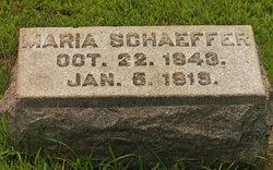 Maria Schaeffer