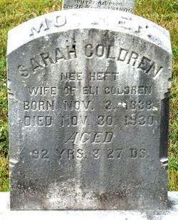 Sarah <I>Heft</I> Coldren