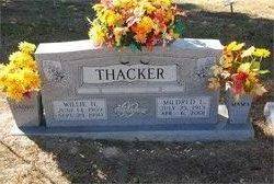 Mildred Louise <I>Riddle</I> Thacker