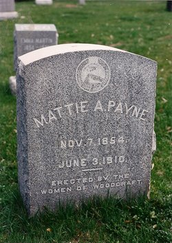 "Martha Ann ""Mattie"" <I>Akes</I> Payne"