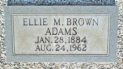 Ellie May <I>Brown</I> Adams