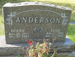 Elsie Caroline <I>Swanson</I> Anderson