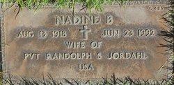 Nadine B Jordahl