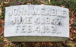 John W. Gable