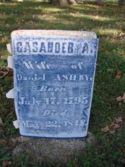 Cassandra A <I>Leeper</I> Ashby