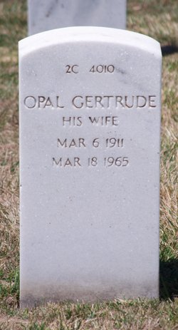 Opal Gertrude Berry