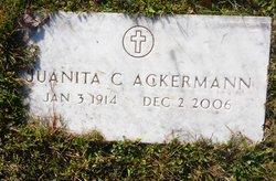 Juanita <I>Churchill</I> Ackermann