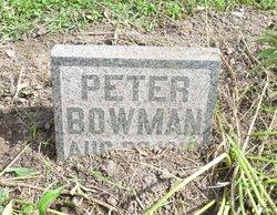 Peter Bowman