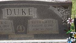 Ruth Ann <I>Gates</I> Duke